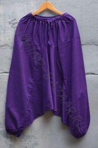 Мужские штаны афгани (фиолетовые)