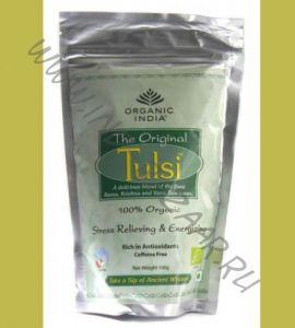 Чай Тулси из Индии Original tulsi Organic India