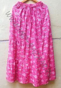 Длинная розовая юбка Воздушные Шары