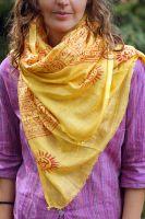 индийский шарф из натурального хлопка всего за 150 руб.