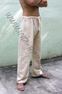 УЦЕНКА! Светлые прямые штаны из органического хлопка (Москва) ххх