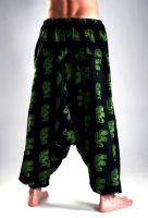 Мужские штаны алладины с индийскими слонами, интернет магазин