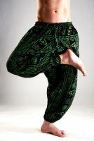 Мужские хлопковые штаны афгани cимвол ОМ, купить в Москве