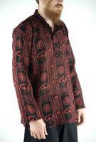 Чёрная легкая индийская рубашка, купить в интернет магазине