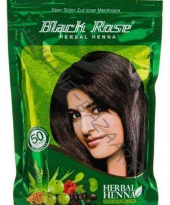 Индийская хна для волос Black Rose, Herbal henna