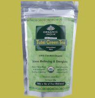 Купить тулси с зелёным чаем Organic India Tulsi Green tea. Интернет магазин Ind-Bazaar.ru